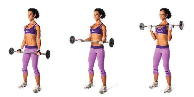 Raising The Bar Full Body Barbell Workout Fitness Magazine Barbell Workout Bench Workout Fitness Magazine