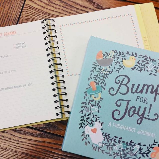 Guided Pregnancy Journal Bump for Joy! Studio Oh