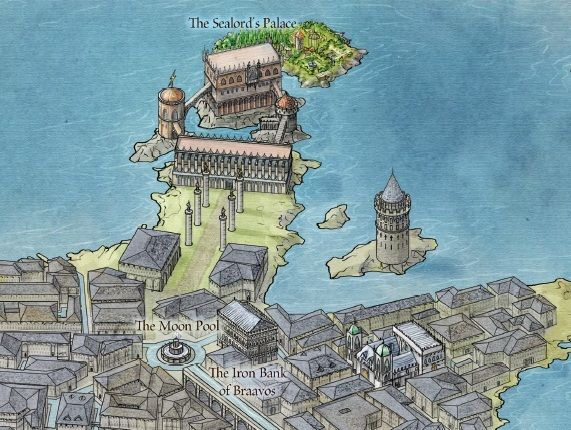 At last official maps of george rr martins world from westeros at last official maps of george rr martins world from westeros to qarth game of thrones gumiabroncs Images