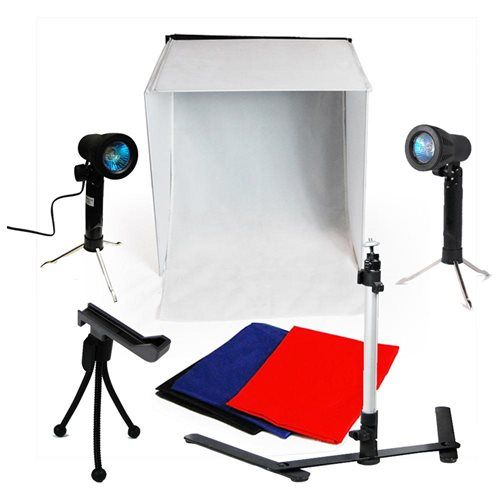 New 100w Photo Studio 16 Photography Lighting Tent Kit Backdrop In A Box Gxr013 Gxr013 Photography Photo Studio Lighting Light Photography Lighting