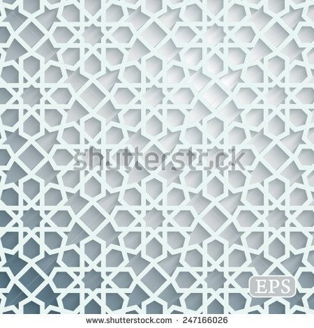 Geometrical Arabic Islamic Pattern Background Islamic Pattern