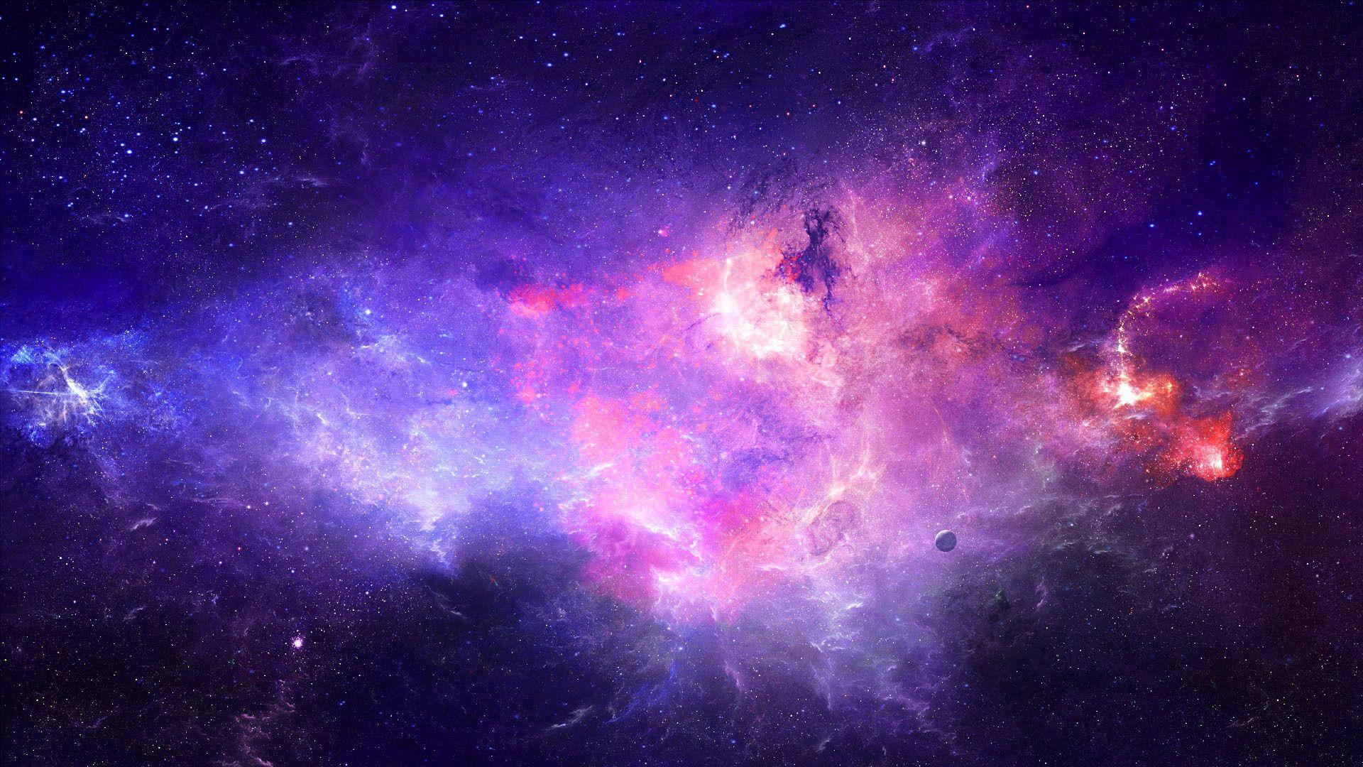 A Nebula Is An Interstellar Cloud Of Dust Hydrogen