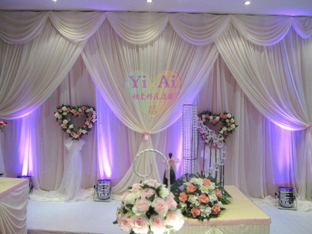 2015 Background Shaman Curtain Wedding Props Supplies Decoration Drape Stage Backdrop