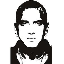 Eminem Celebrity Pop Art Black And White Google Search