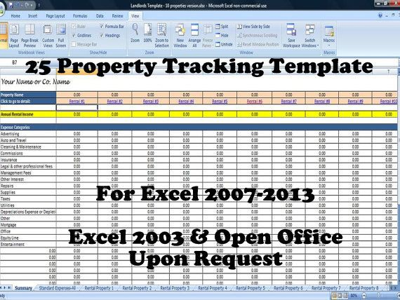 25 Property Tracking Expense And Rental Income Tracking Etsy In 2021 Being A Landlord Rental Property Management Property Management