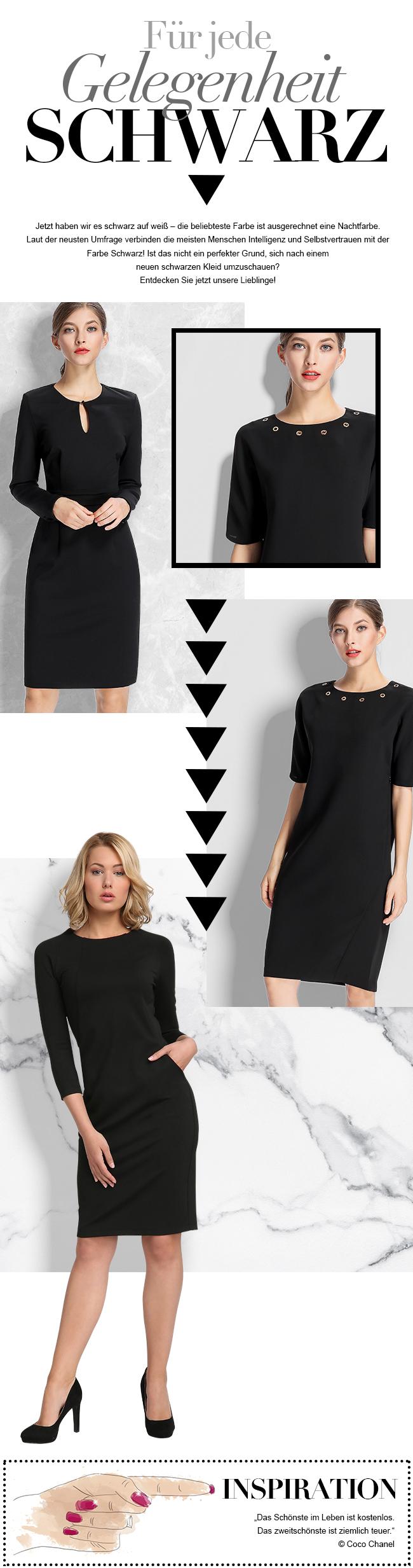 entdecken sie ihr perfektes schwarzes kleid bei apart