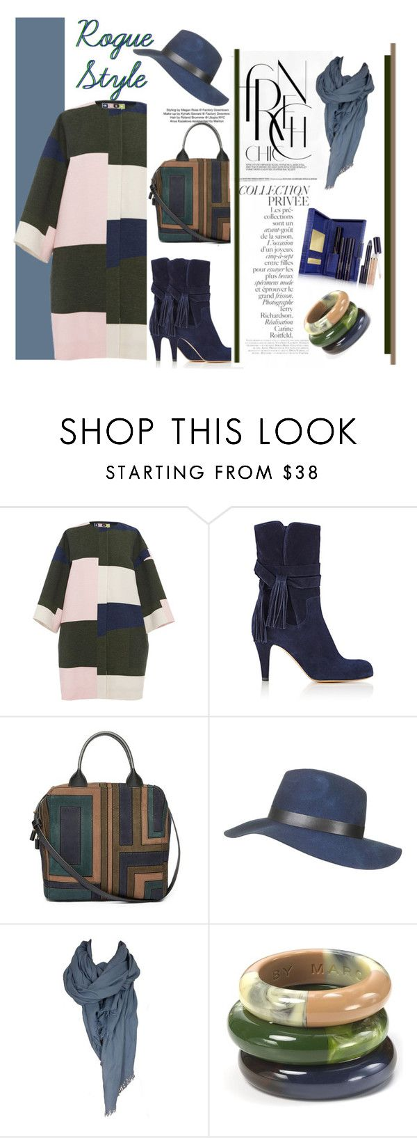"""""""Rogue Style"""" by emcf3548 ❤ liked on Polyvore featuring MSGM, Chloé, Tory Burch, Topshop, Nicole Farhi, By Terry, Marc by Marc Jacobs and Estée Lauder"""