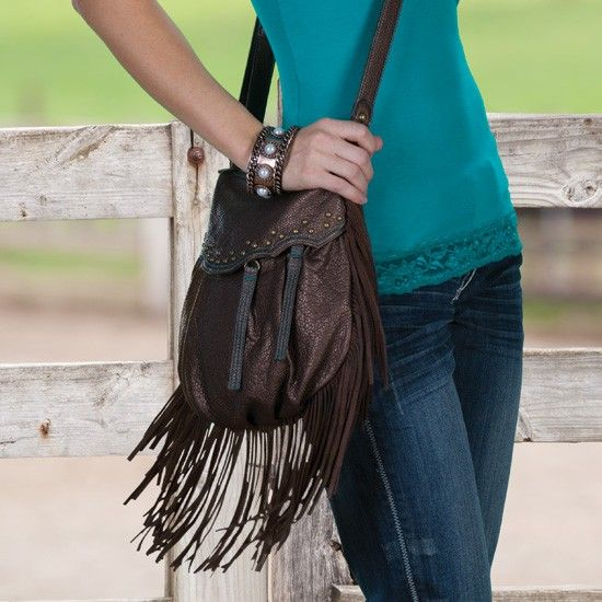 This is one of my designs!  Hannah Fringe Handbag by Way West