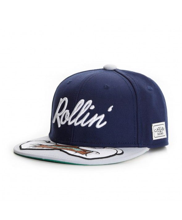 48c57cf02 Cayler & Sons Rollin snapback Cap navy-grey | Cayler & Sons in 2019 ...