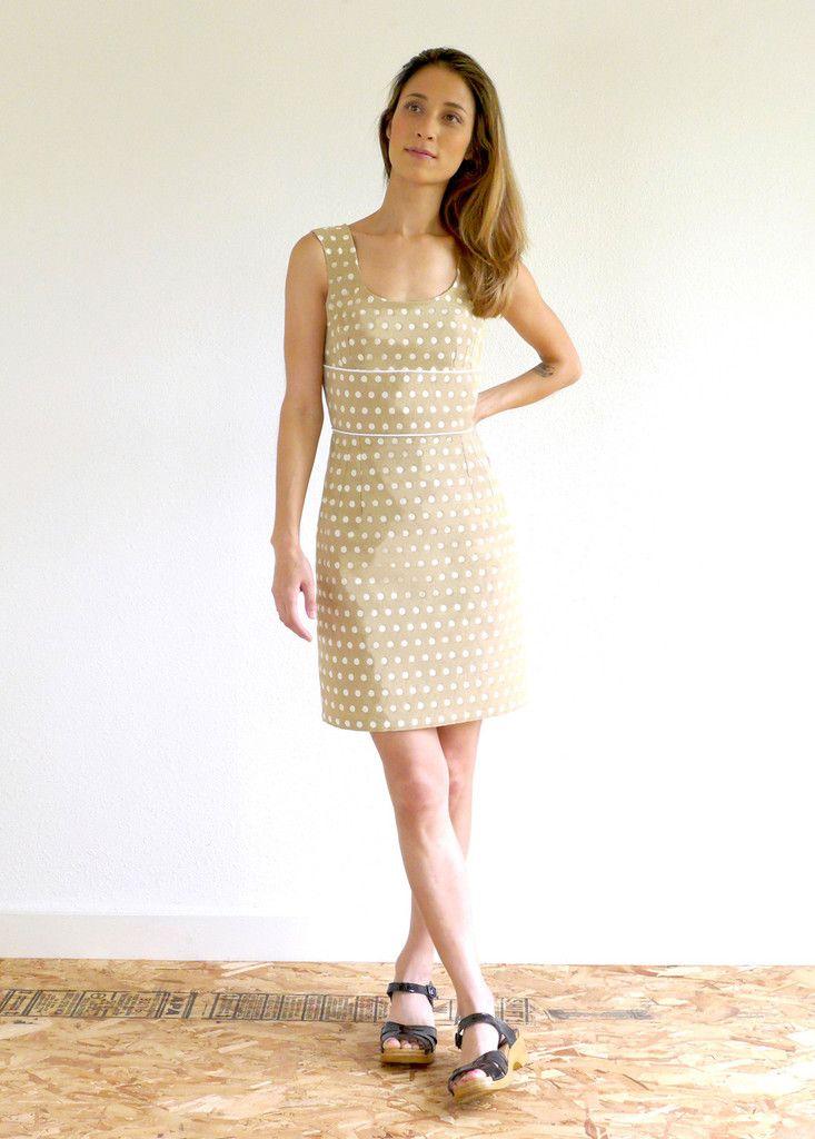 Sylvie Dress Sewing Pattern – Christine Haynes | Sylvie Dress ...