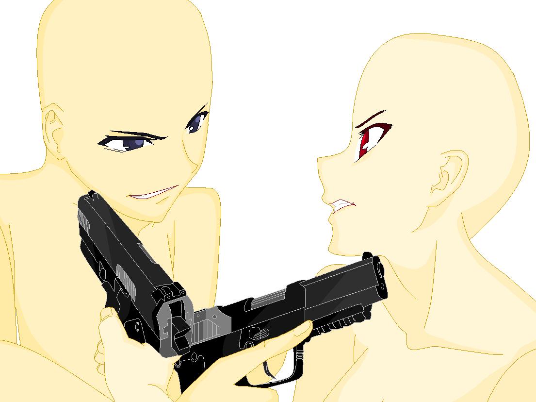 Resultado de imagem para boy and girl with weapon anime ...