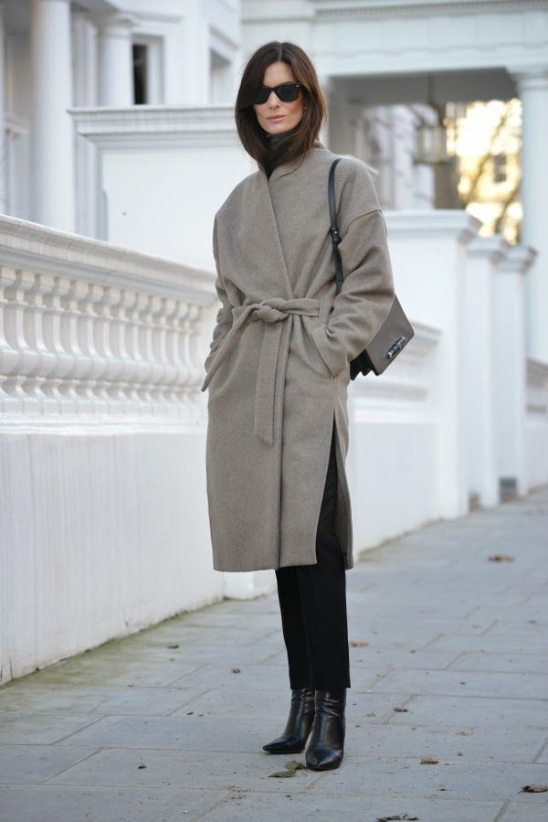 belted grey. Hedvig in London. #TheNorthernLight