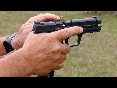 How to clear a 'stove pipe' pistol malfunction (VIDEO) #gunsammo