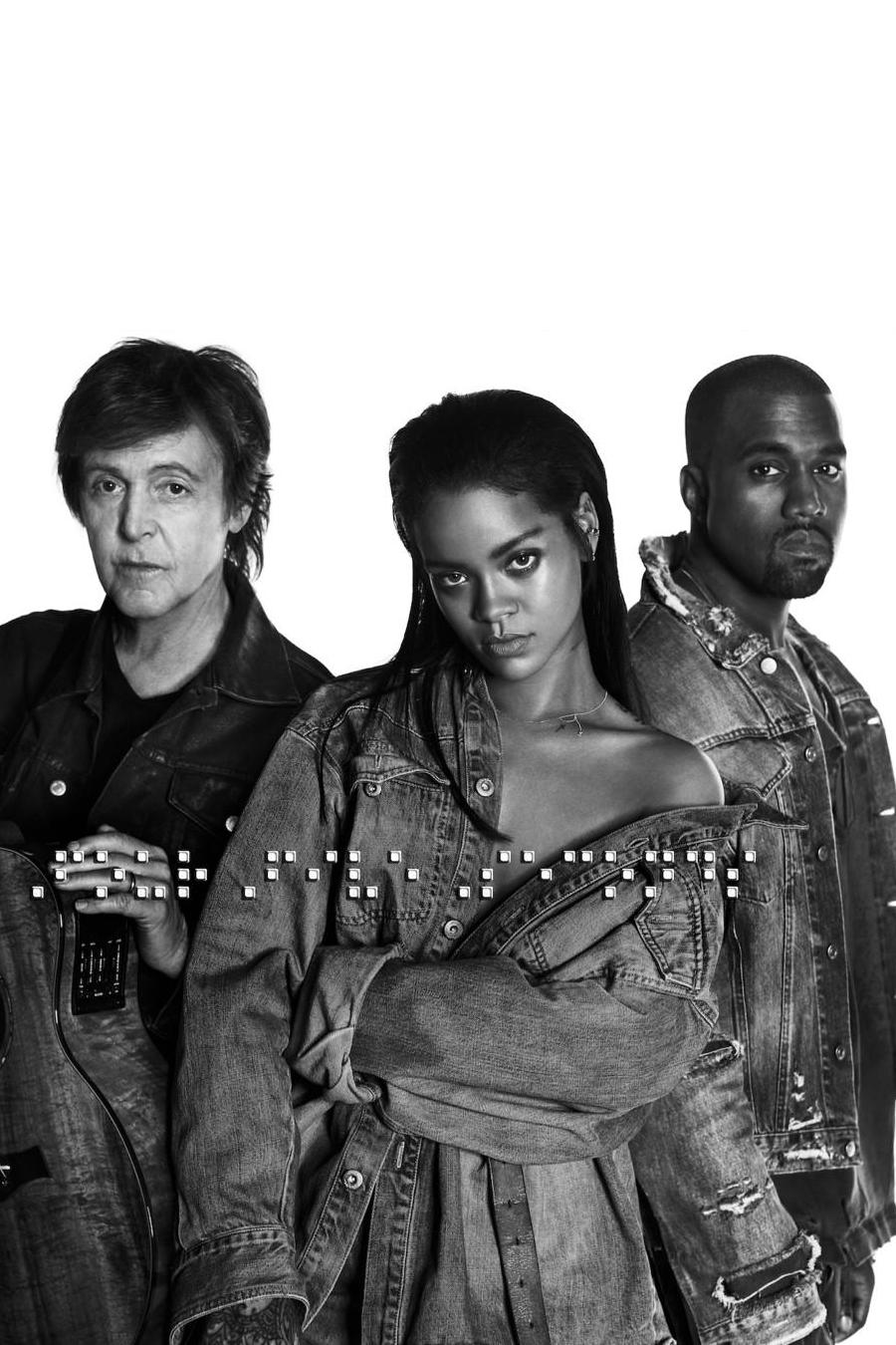 Fourfiveseconds Rihanna Kanye West Kanye West Paul Mccartney Rihanna Paul Mccartney