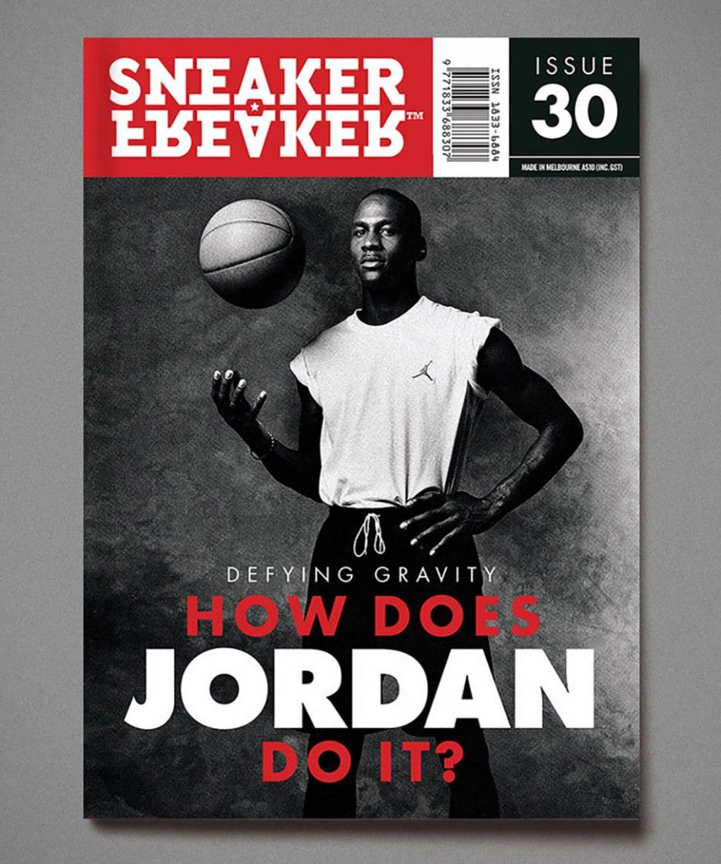 Sneaker Freaker Magazine Issue (con imágenes) Jordan