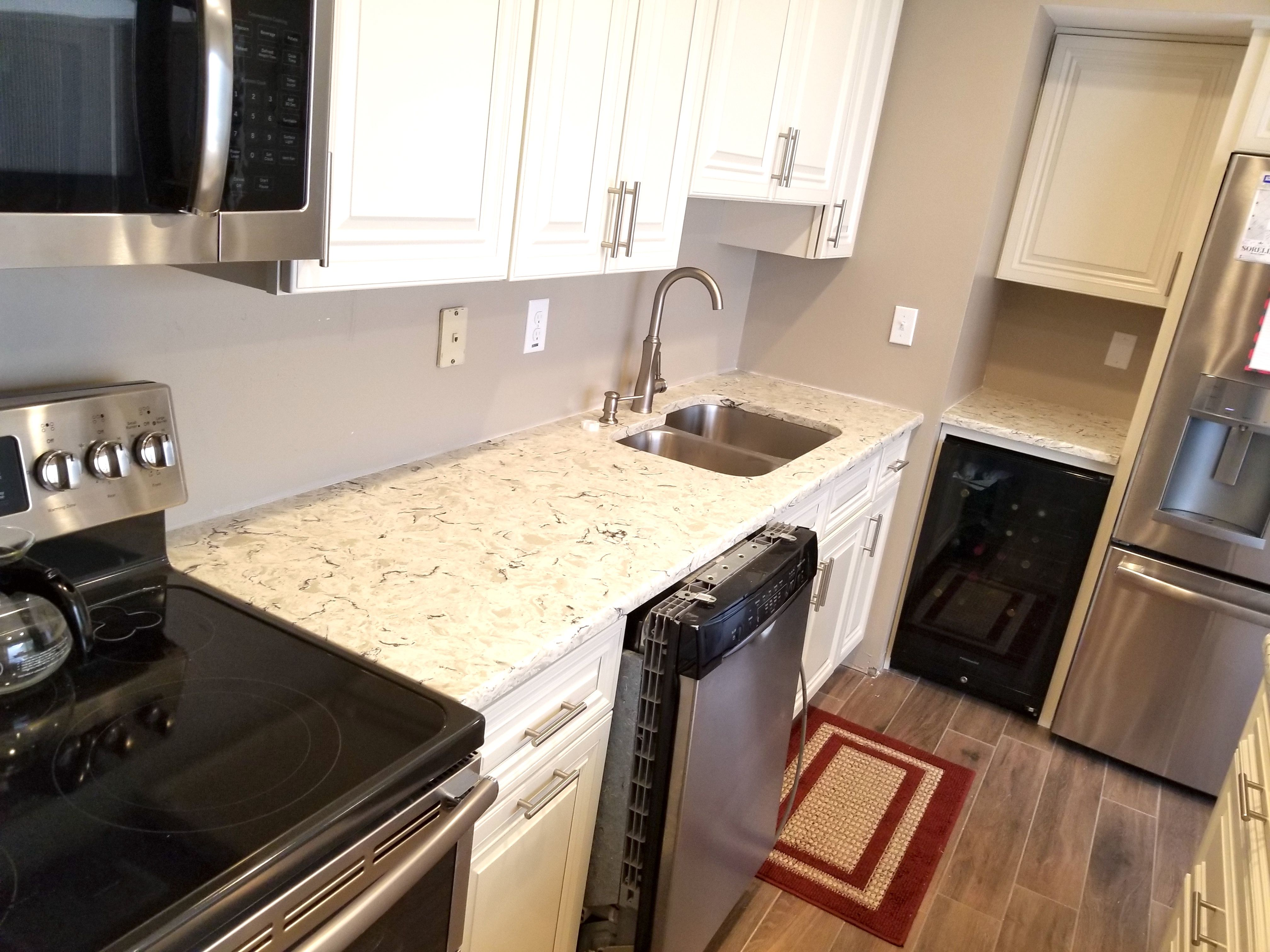 worktop tampa kitchens full grey seattle bathroom kitchen backsplash portland of countertops granite concrete environmentally size surfaces color remnants glass slabs quartz translucent cracked tile images recycled friendly for terrazzo countertop