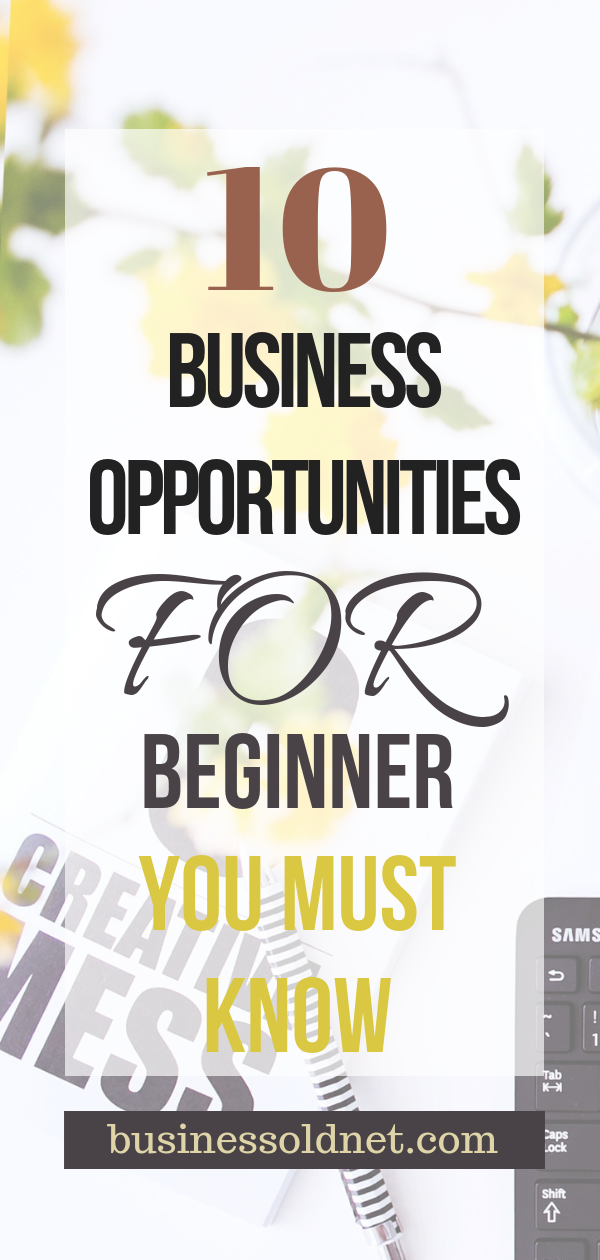 Business Opportunities And Business For Beginner Students