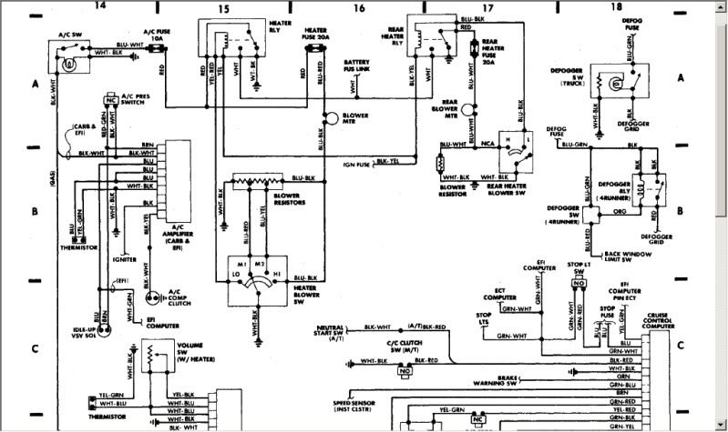 fsm wiring diagram book for a 86  pirate4x4  4x4 and