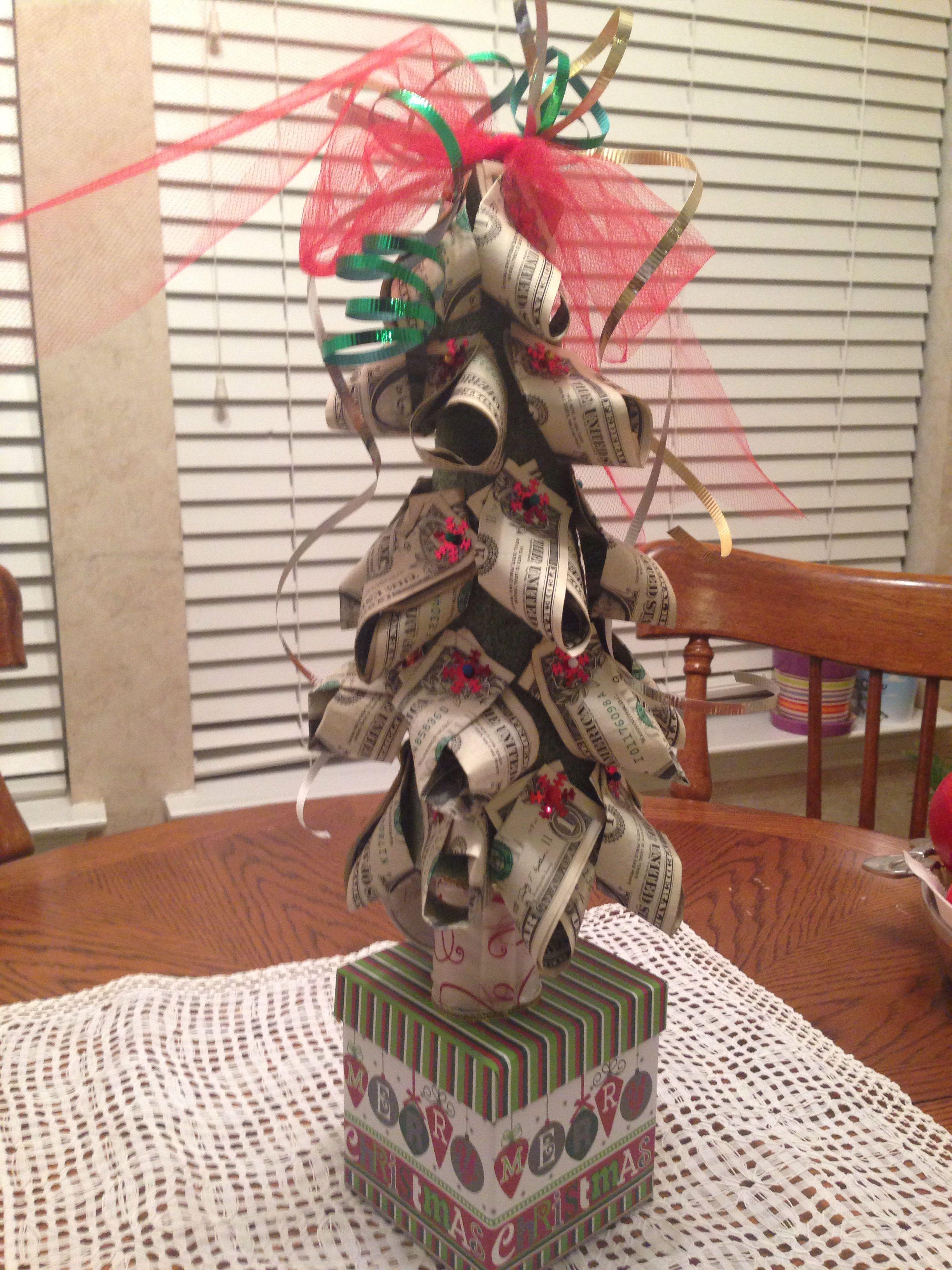 Christmas Money Tree Cool Surprise Pinterest Money Trees