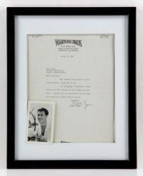 7104 - Warner Bros. Errol Flynn's Ephemera Lot Autumn Estate Auction | Official Kaminski Auctions