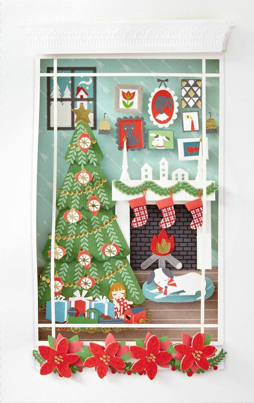Unknown Artist Warm Wonderful Hallmark Christmas Card