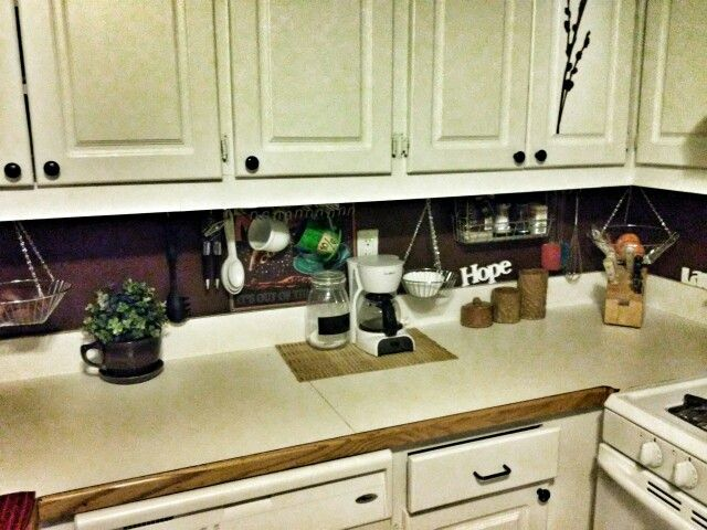 I Took Apart A 3 Tired Hanging Fruit Basket And Used Eye Screw Hooks