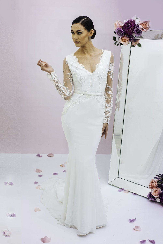 Trish Peng Eternity Gown www.trishpeng.com   Trish Peng Wedding ...