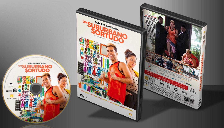 Um Suburbano Sortudo - Capa | VITRINE - Galeria De Capas - Designer Covers Custom | Capas & Labels Customizados