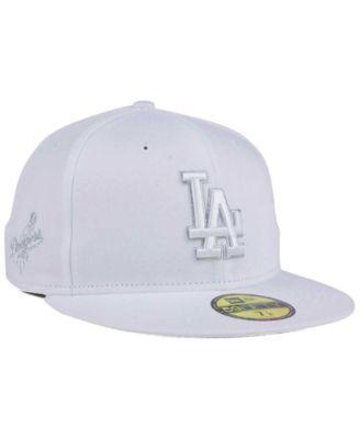 info for 3633a a35e1 New Era Los Angeles Dodgers Pure Money 59FIFTY Cap - White Metallic 7 5 8