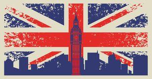 Bandeira De Gra Bretanha Foto De Stock Londres Ciudades Vector