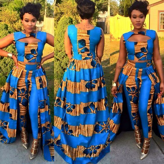Top Ten Latest Ankara Jumpsuit Styles 2018 You Will Love To Have