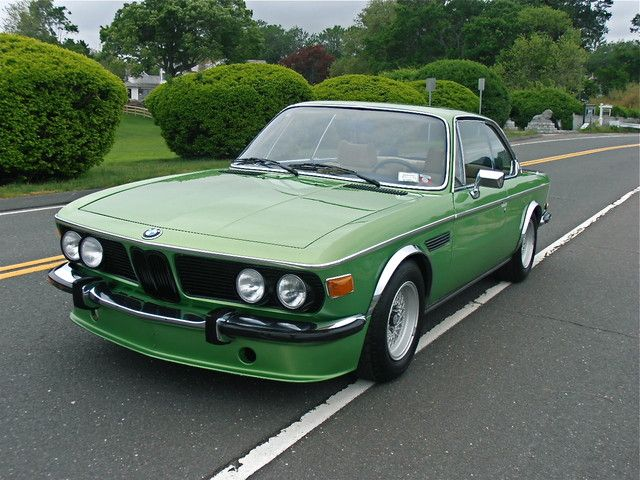 1975 Bmw 3 0 Cs In Taiga Green I Want This Car Bmw Coupe Bmw