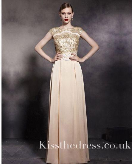 Vintage Gold Prom Dresses