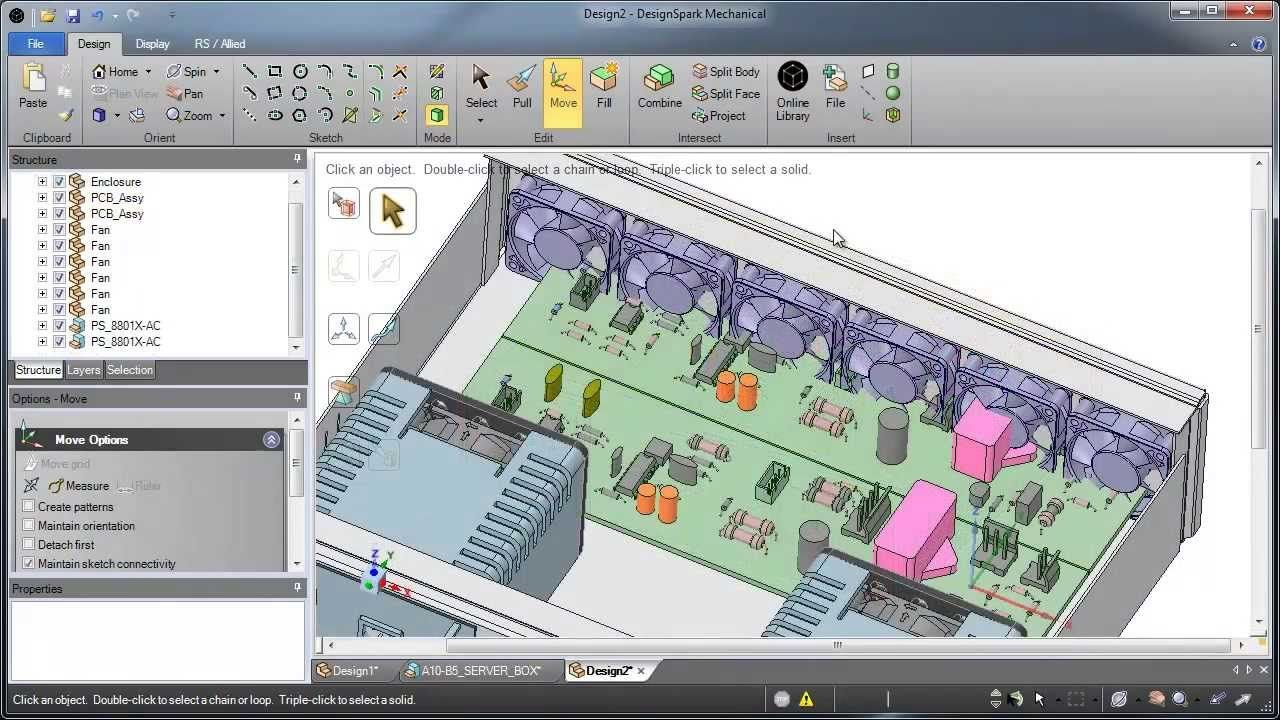 3D Engineering Design Software - Top 5 reasons to use DesignSpark