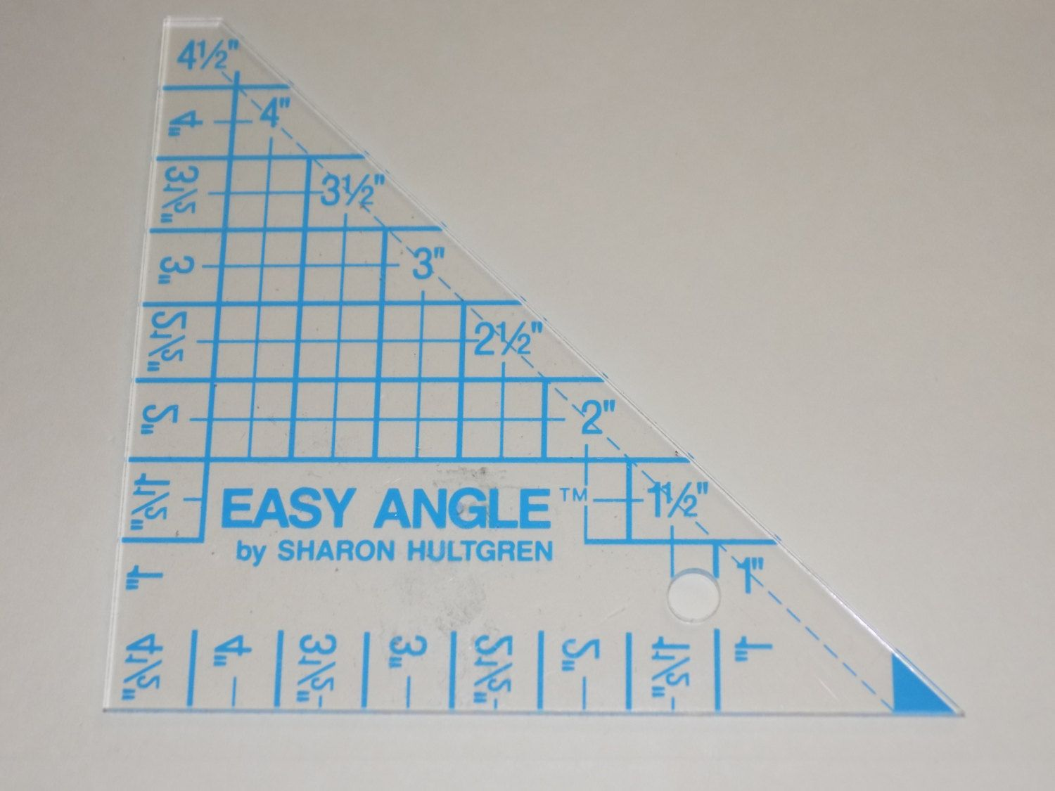 Easy Angle by Sharon Hultren Hard Plastic Right Angle Template for ...