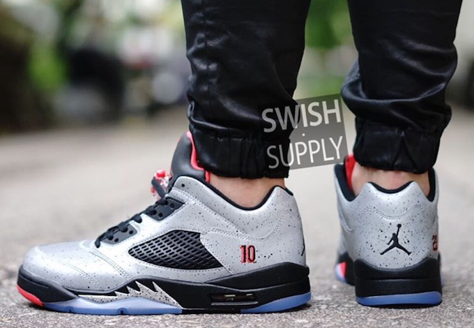 On-Feet Images Of The Air Jordan 5 Low