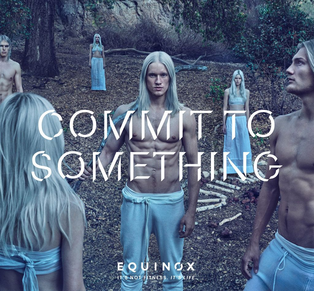 New York fitness club chain, Equinox 2016 campaign photographed by Steven Klein.