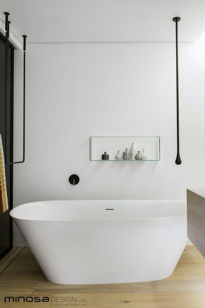 ingenious modern shower designs. Minosa Design  Clean Simple lines Slick bathroom design by create a stunning show piece Bathroom Interior