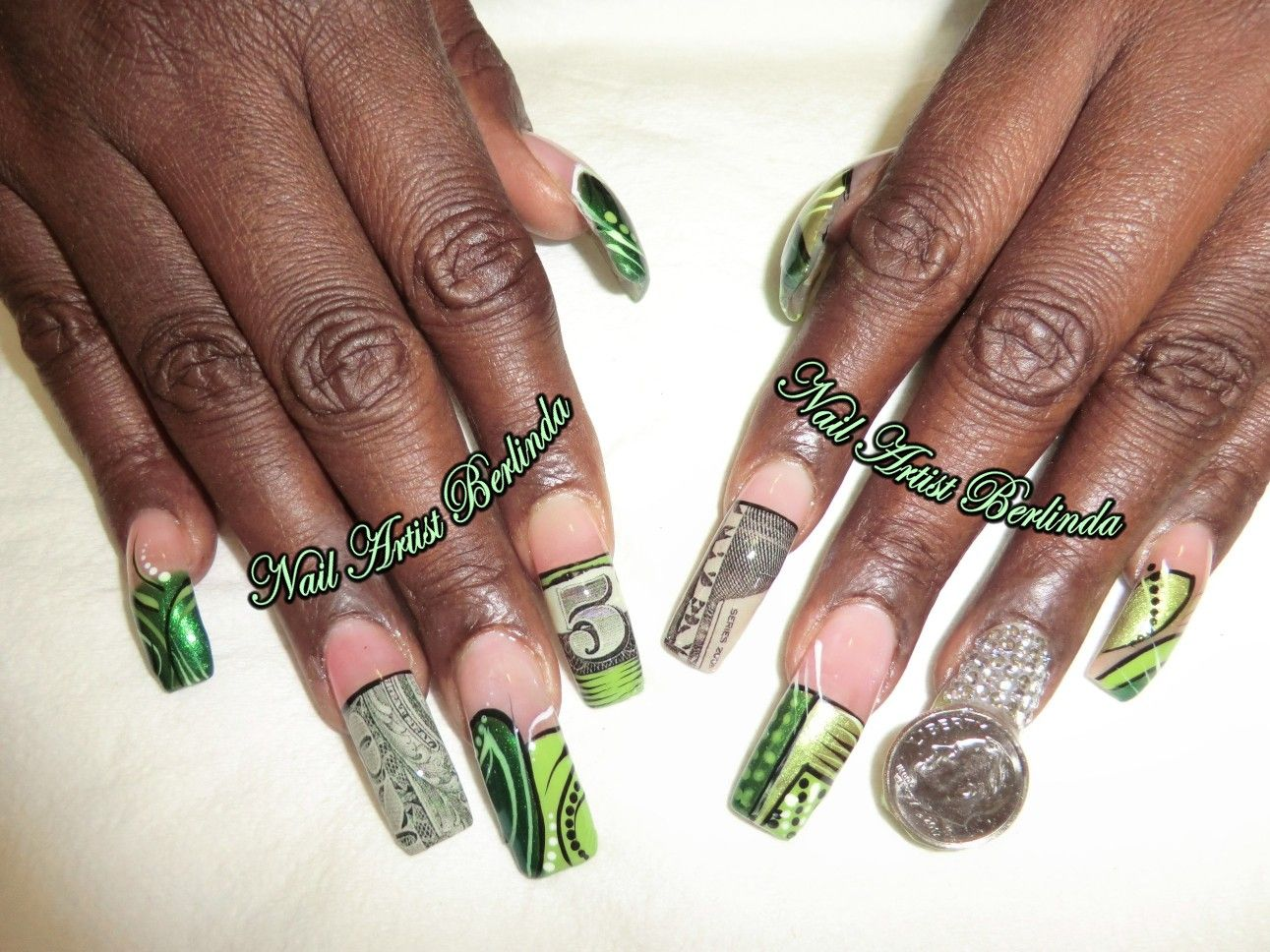 Money has a New Look at www.nailartistberlinda.com | Extravagant ...