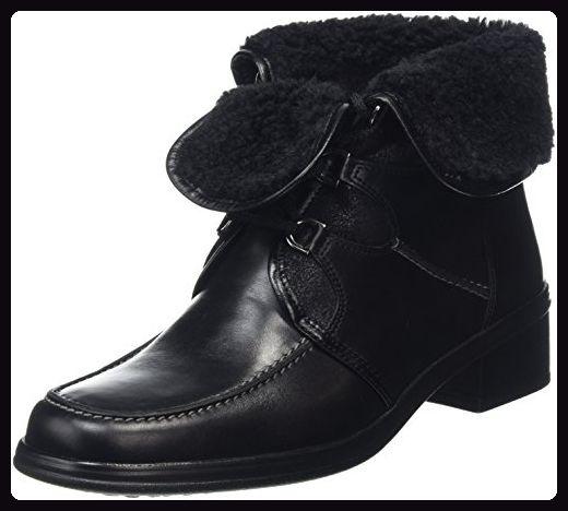 Gabor Shoes 04.542 Damen Kurzschaft Stiefel, Schwarz