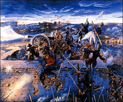 The Alamo During The Texas Revolution: 1835-1836 | Wild, Wild West ...