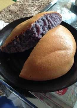 Simple Purple Sweet Potato Cake Made in a Rice Cooker ...