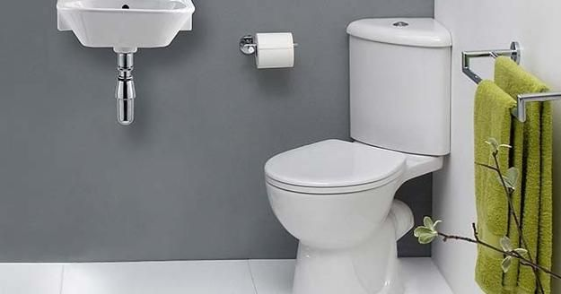How To Move Toilets In Bathrooms 30 Home Staging And Bathroom Design Ideas Corner Toilet Small Bathroom Sinks Tiny Bathroom Sink