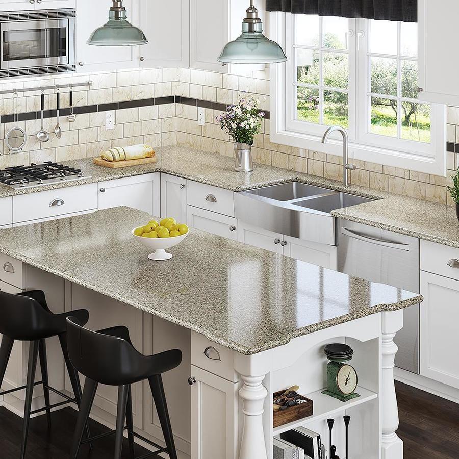 Allen + roth Ellensburg Quartz Kitchen Countertop Sample