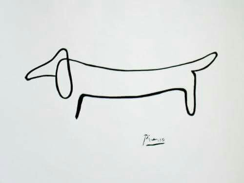 Picasso had a dachshund named Lump