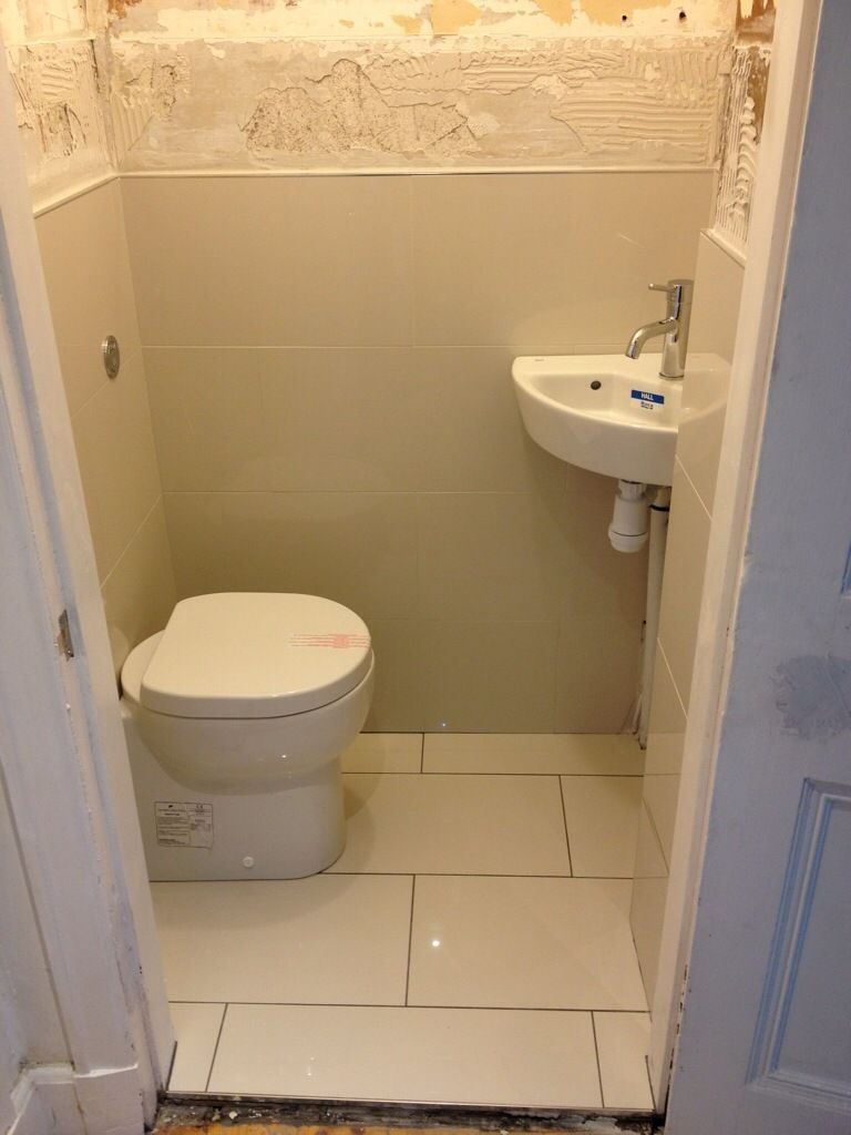 Worlds Smallest Toilet  Bathroom remodel in 2019  Small