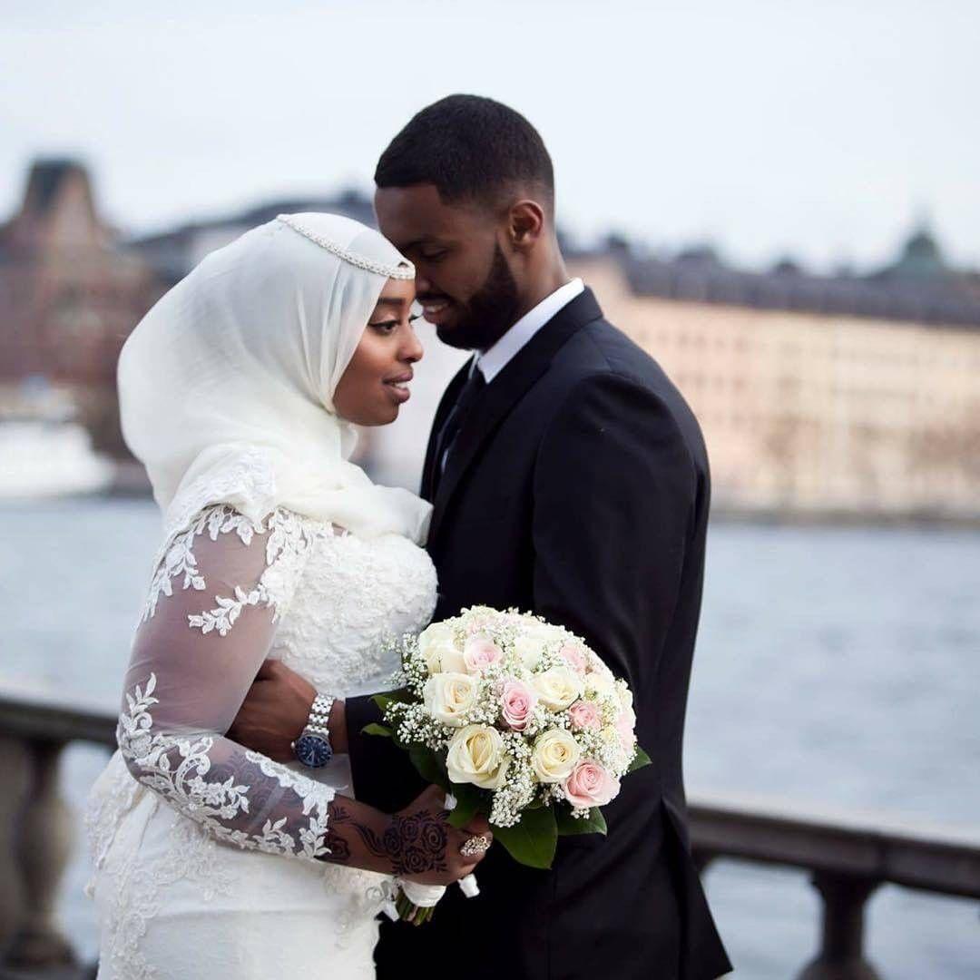 Somali couple PINTEREST: Bishara | Muslim couples in 2019