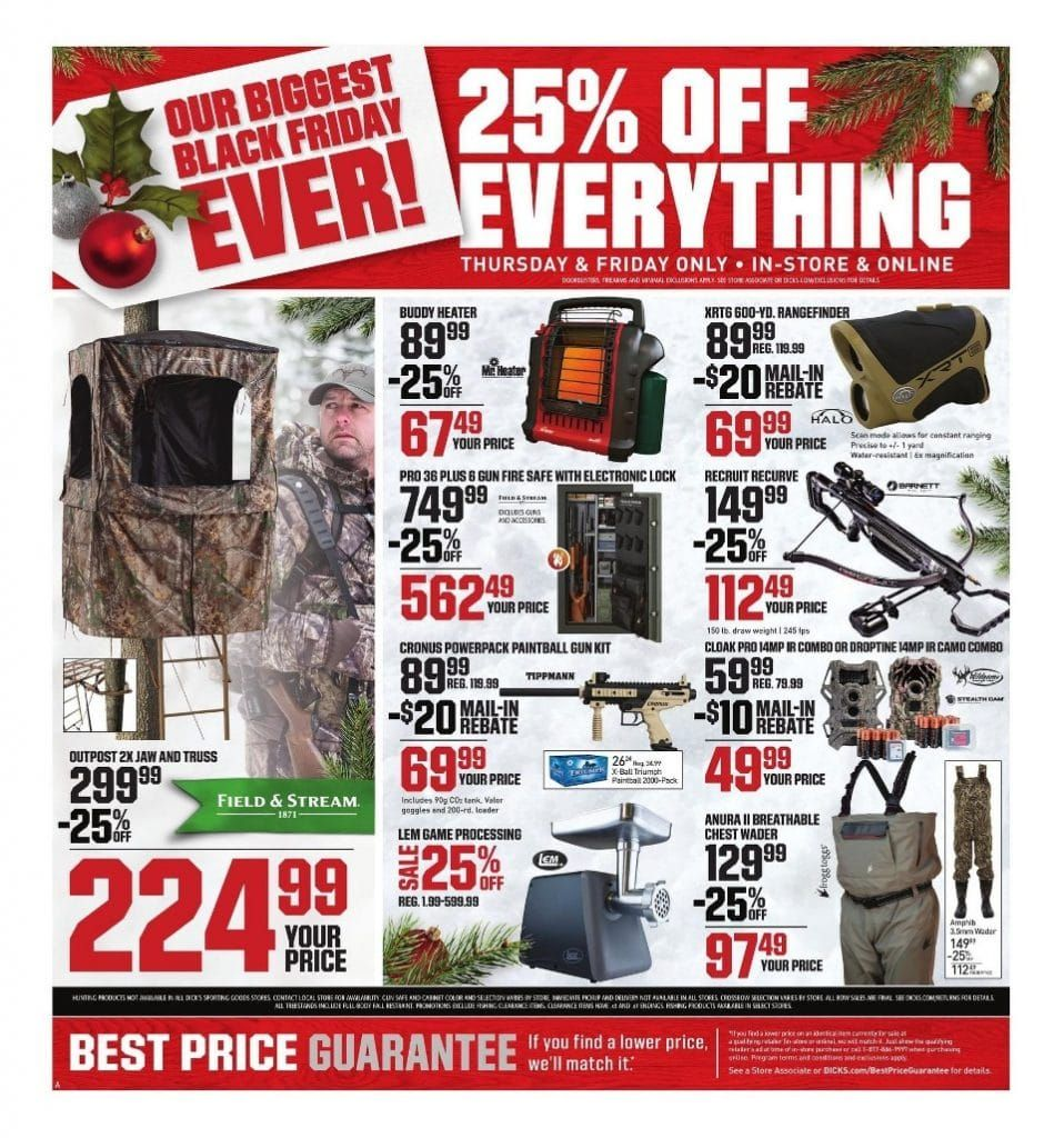 Field Stream Black Friday 2020 Ads Sale And Deals In 2020 Black Friday Black Friday 2019 Best Black Friday