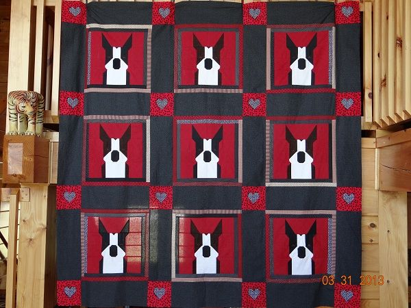 Heartland Boston Terrier Club | Boston Terrier Quilts | Pinterest ... : boston quilt - Adamdwight.com
