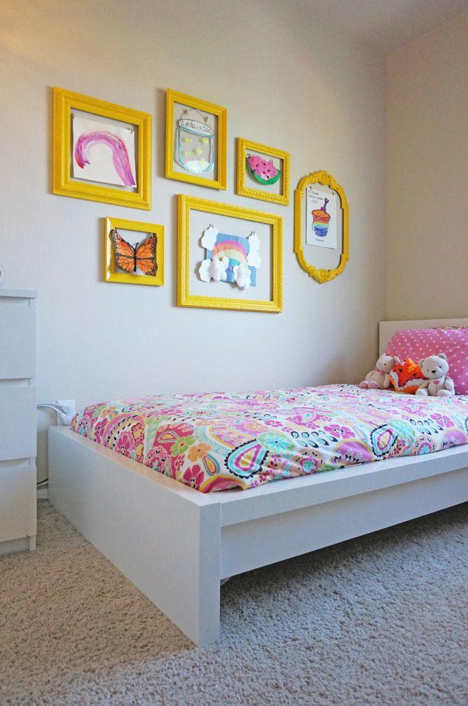 Diy wall frames for art | Kids Area Ideas | Pinterest | Gallery wall ...